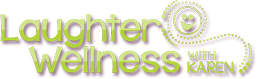 Laughter Wellness with Karen Logo